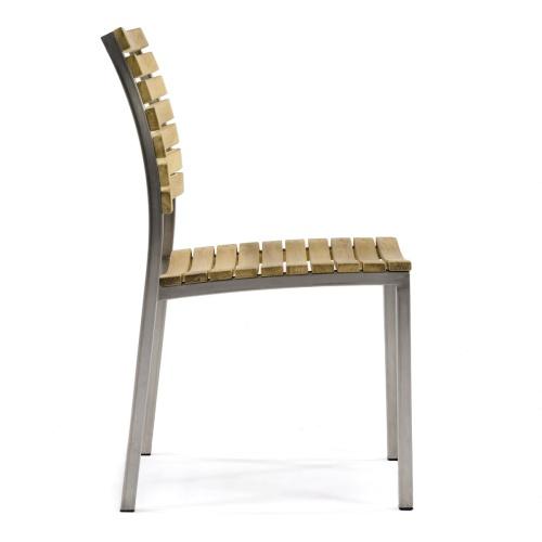 furniture stainless steel teak