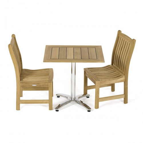 restaurant style cafe set for 2