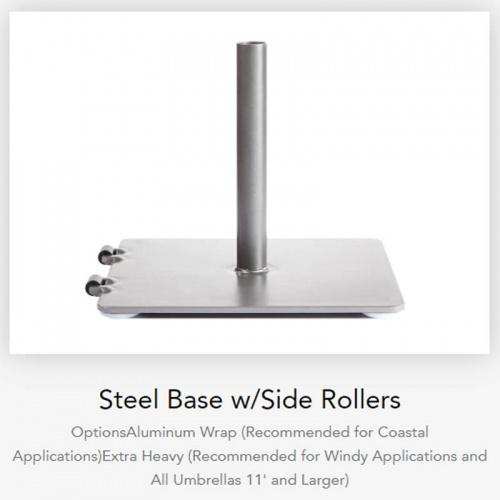 Low Profile Steel Base