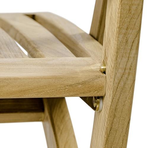grade a teakwood folding chairs
