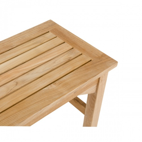 Backless Bench Teak