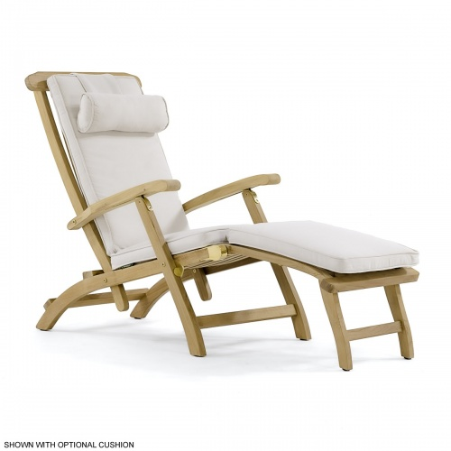 westminster teak steamer lounge chair