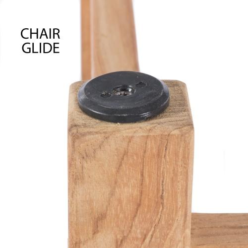 Folding Gateleg Teak Wooden Table