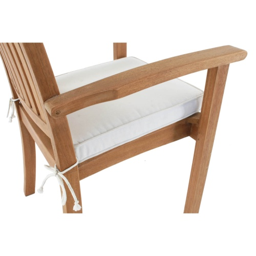 teak wooden dining chairs stackable