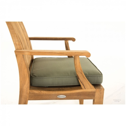 teakwood armchairs with cushion
