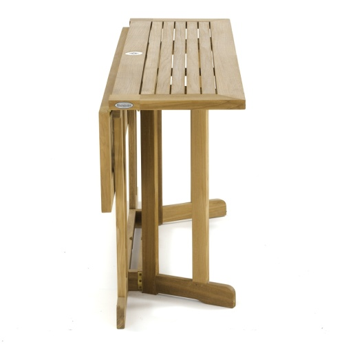 wooden folding table seats 6