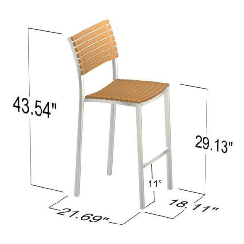 outside bar height stools