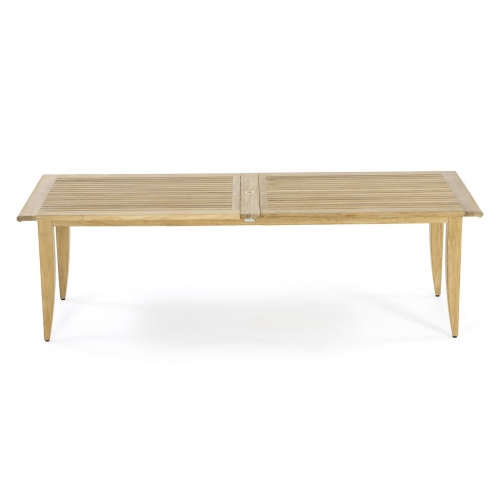 rctangled extension table wooden