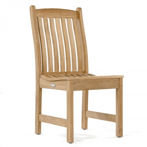patio wooden dining sidechair