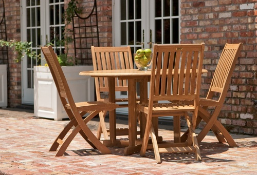 teak folding dining chairs