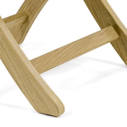 yacht folding dining chair