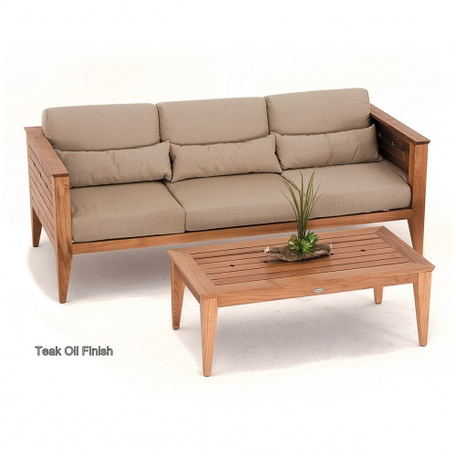 teak wood couches