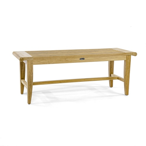 teak indoor shower bench 4 Foot