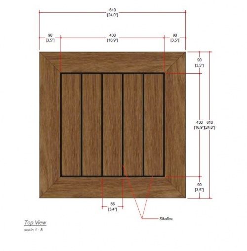 dinette wooden table top