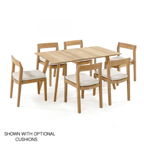 5 piece outdoor teak dining set