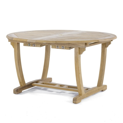 round butterfly folding dining table