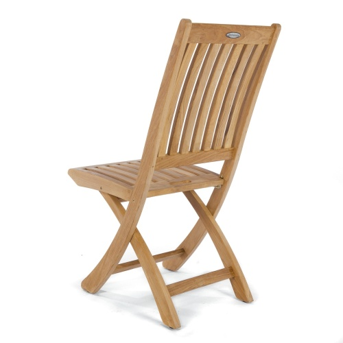 teak foldable chair