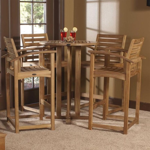 indoor barstool set for 4