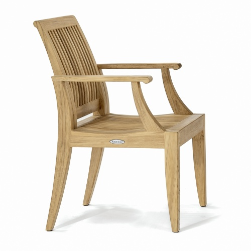 teak armchair danish