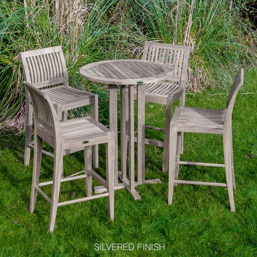 bar stool height dining set