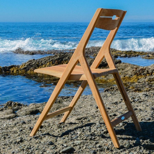 folding wooden dining chairs outdoor