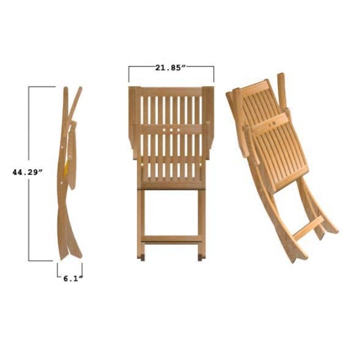 wooden folding chairs outdoor patio