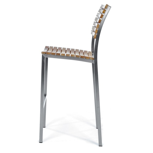 teak and wood barchair