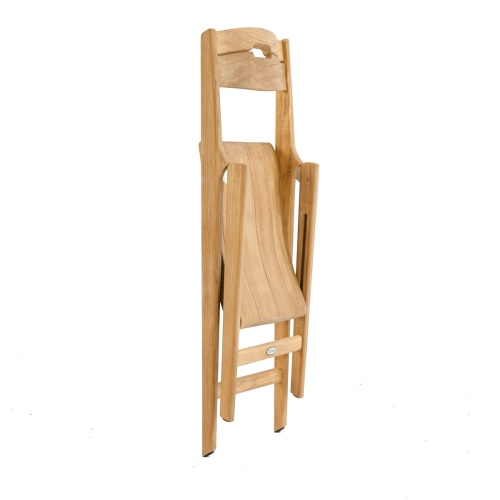 folding teakmarine side chair