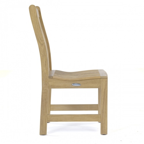 outdoor chairs in teak