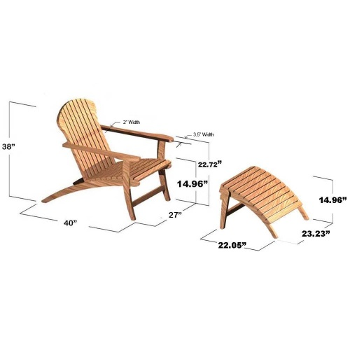 teak deck chairs