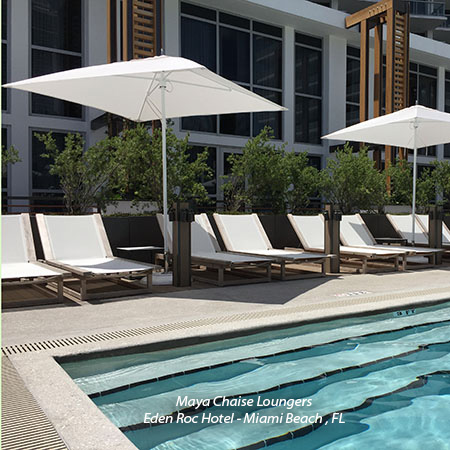 Hospitality Furniture for Pool Areas
