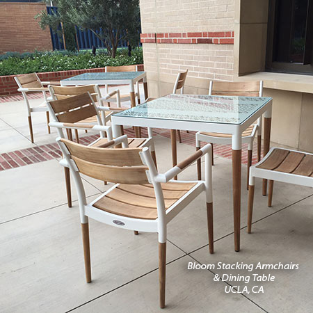 Teak and Aluminum Bloom Collection