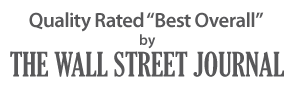 Quality Rated Best Overall by the Wall Street Journal