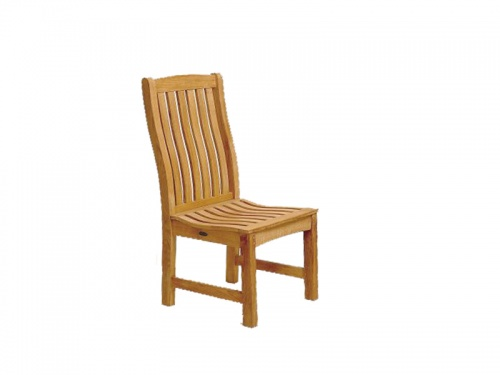 Hi Back Wave Dining Chair - Picture A