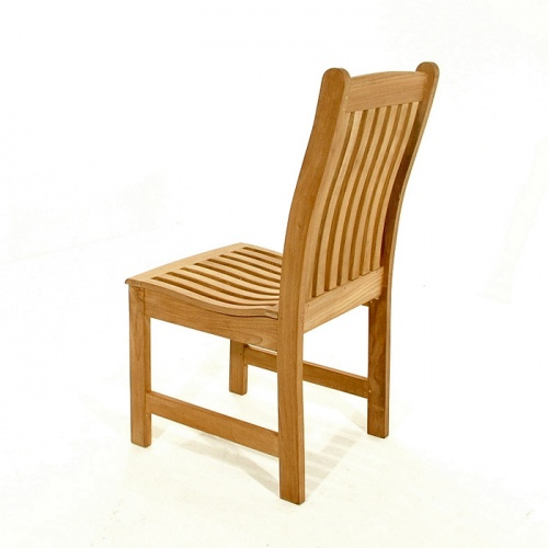 Veranda Teak Wood Dining Side Chair - Picture E