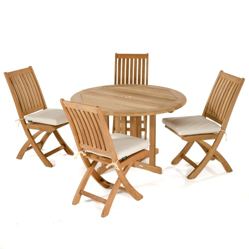 folding teak boat chairs