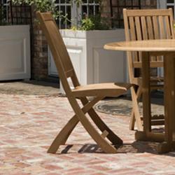 Barbuda Teak Folding Chair - Picture M