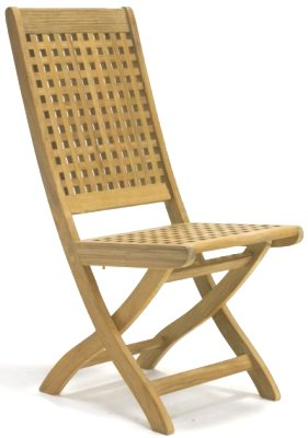Chequered Side Chair - Picture A