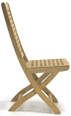 Chequered Side Chair - Picture B