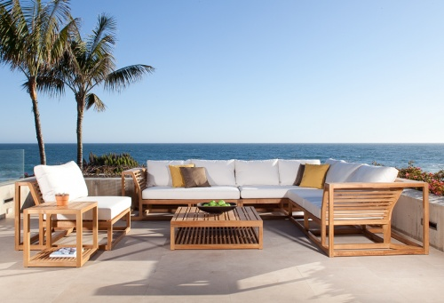Teak Lounge Chairs - Picture B