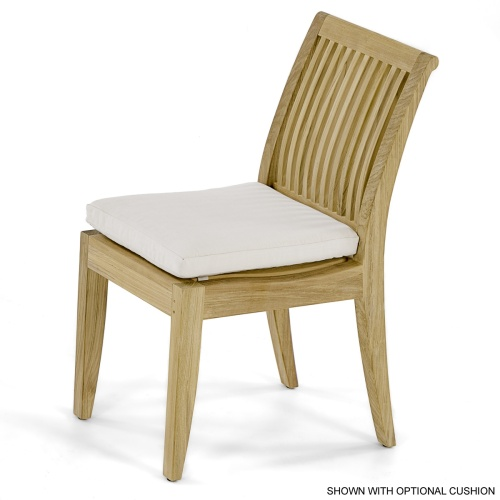 Laguna Teak Side Chair - Picture D