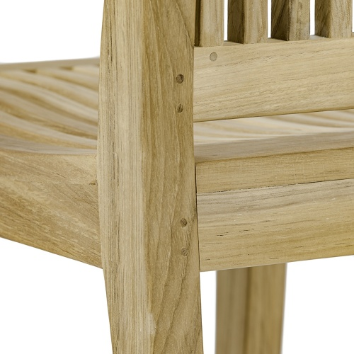 Laguna Teak Side Chair - Picture F