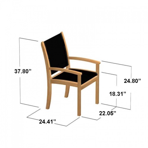 Teak Armchair - Picture E