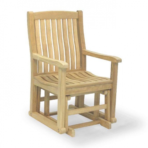Teak Wave Glider Chair Clearance - Picture A