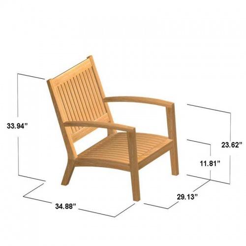 Teak Armchair - Picture G