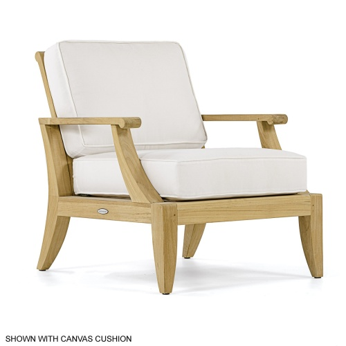 Laguna Teak Lounge Chair - Picture A