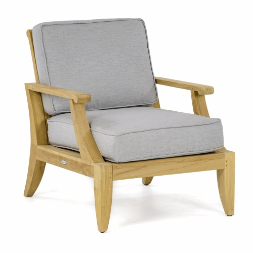 Laguna Teak Lounge Chair - Picture F