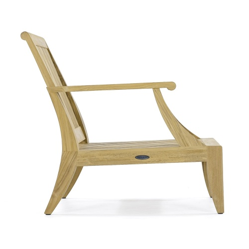 Laguna Teak Lounge Chair - Picture H
