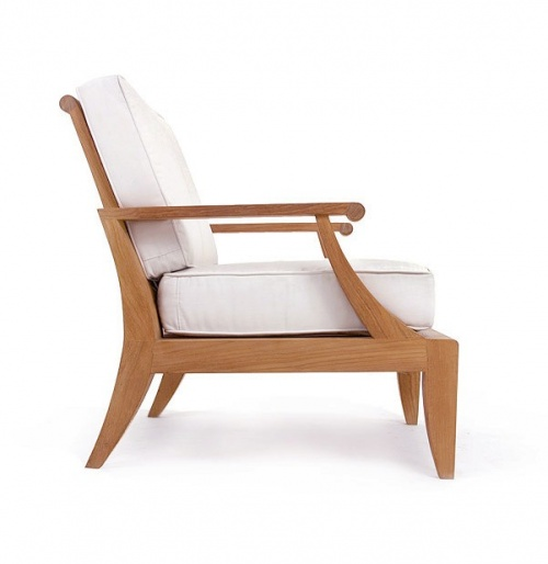 Laguna Teak Deep Seating Outdoor Lounge Chair - Picture E