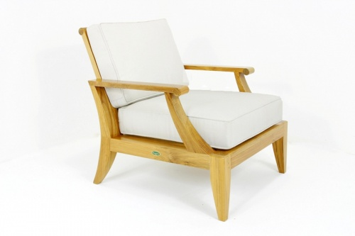 Deep Seating Teak Armchair - Picture A